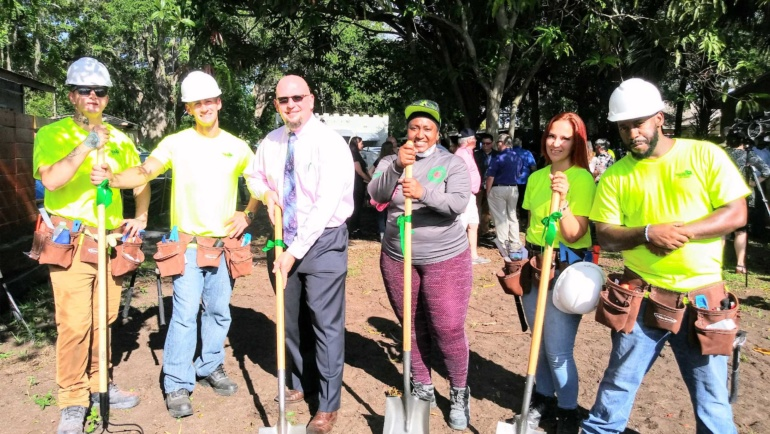 St. Pete Works Ribbon Cutting & Tiny Homes Groundbreaking