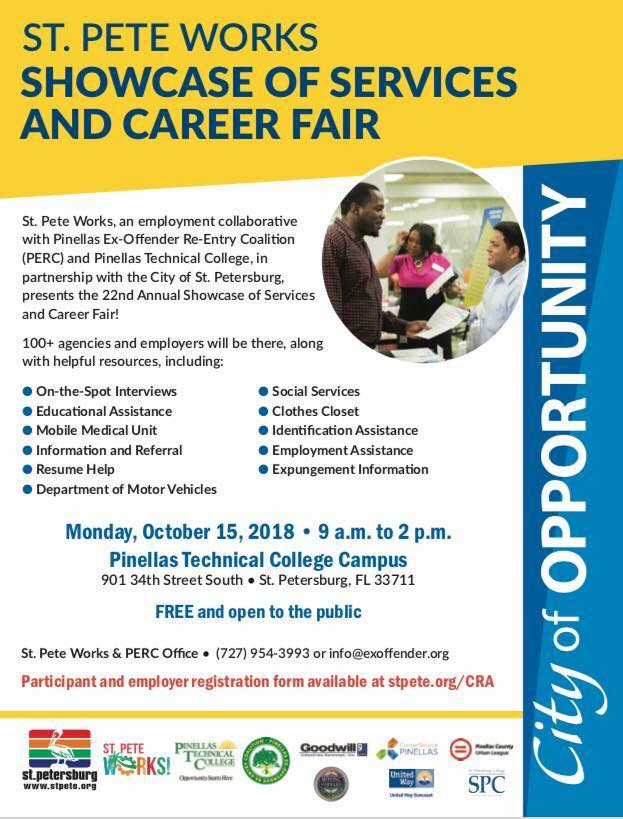 2018 Showcase of Services and Career Fair
